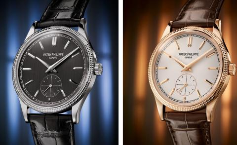 Patek Philippe Calatrava watches 6119G in white gold and 6119R in rose gold