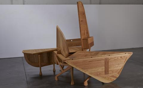 Last chance to see: the shape-shifting furniture of Enric Miralles