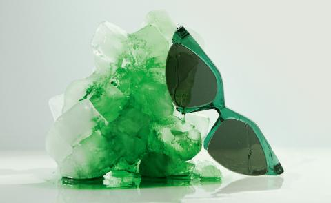 Colourful sunglasses for cooling off in style