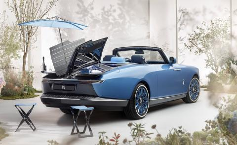 The Rolls-Royce Boat Tail, a car created for very special events