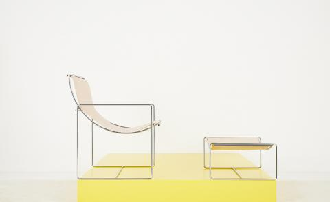 Odile Mir's granddaughter is reissuing her 1970s French furniture