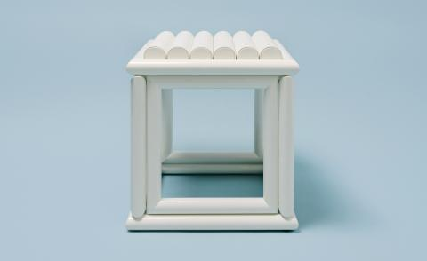 Jonathan Saunders' new furniture designs are inspired by ancient Japanese architecture
