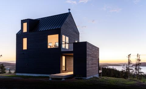 Halfway Hill House, Newfoundland by Woodford Architecture