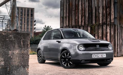 The ultimate compact electric city car, the new Honda e