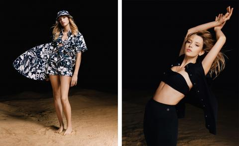 Beachwear capsule collection by Chanel
