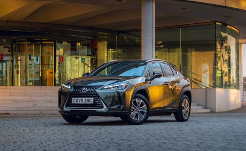 The Lexus UX 300e is the brand's first pure electric car