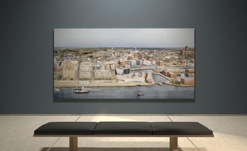 the Liverpool cityscape at V&a virtual gallery during London Festival of Architecture 2021