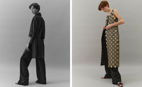 Summer trends: the tunic-over-trousers trick