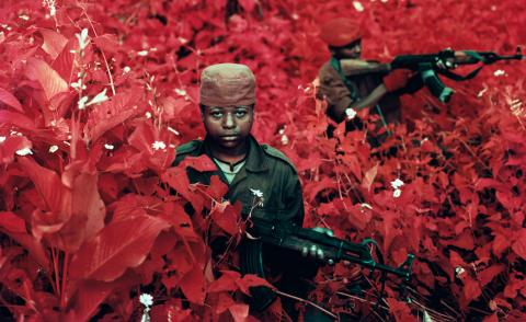 Vintage Violence, Eastern Democratic Republic of Congo, © Richard Mosse, courtesy of the artist and Jack Shainman Gallery, NY