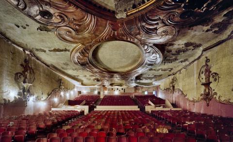 Beauty and decay: inside America's derelict movie theatres