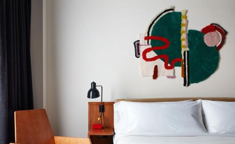 Brand new Ace Hotel Brooklyn is entwined with fibre art