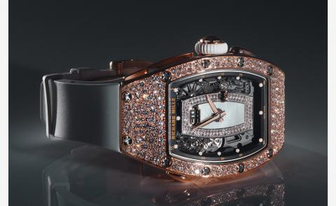 Richard Mille's new watch for women employs high jewellery techniques