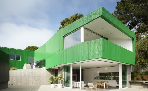 Green Hollywood Hills house