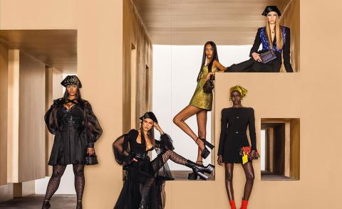 Now you can admire every Versace catwalk look from your bookshelf