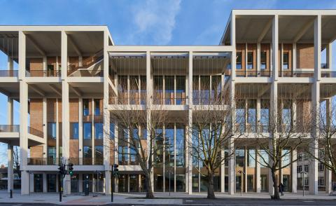 Town House building by Grafton Architects