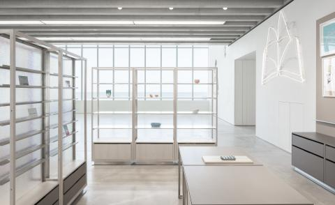 the Turner Contemporary shop in its minimalist glory