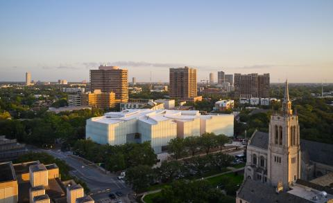 Museum of Fine Arts Houston, USA by Steven Holl
