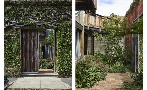 entrance to Stockroom Cottage by Architects EAT