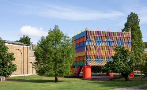 The Colour Palace by Yinka Ilori,