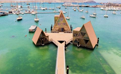 Floating Music Hub completes in Cape Verde