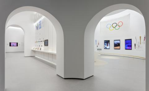 the new Olympic Museum in Athens opens this month