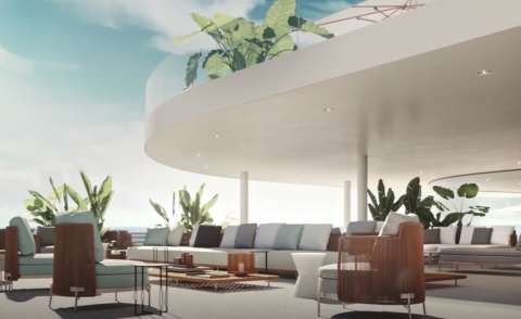 Escape to Minotti's virtual reality resort