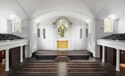 john pawson hackney church