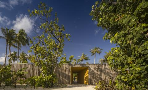 Marcio Kogan's Maldives hotel is at one with nature