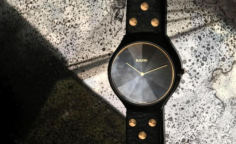 The Rado True Thinline Studs watch