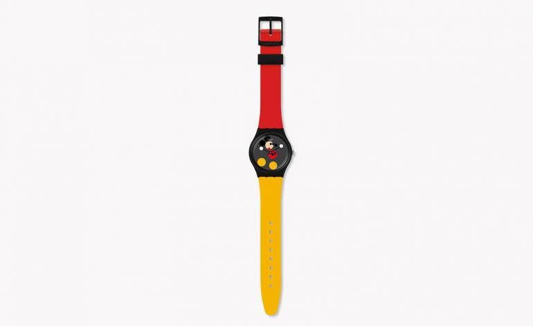 Mickey Mouse watches, by Swatch and Damien Hirst