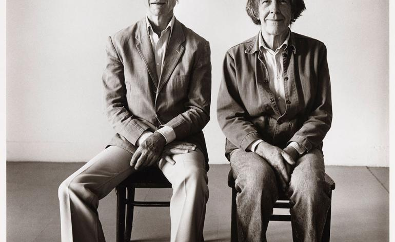 John Cage and Merce Cunningham by Peter Hujar