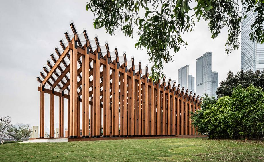 Architectural pavilions: architects packing a big punch with small