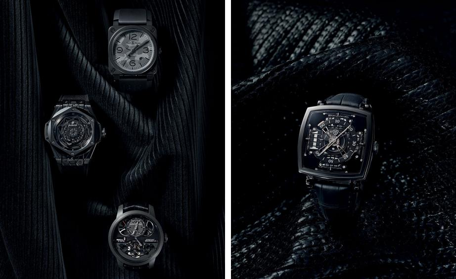 Our Collection Of Blackout Timepieces Wallpaper