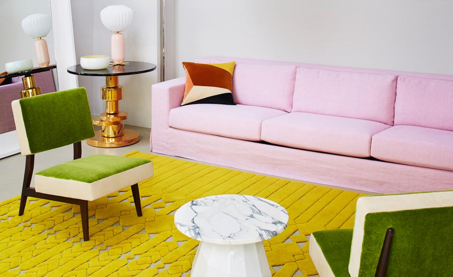 India Mahdavi\'s \'Jardin Interieur\' collection, for Cogolin ...
