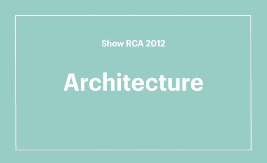 Royal College of Art graduate show 2012 Wallpaper*
