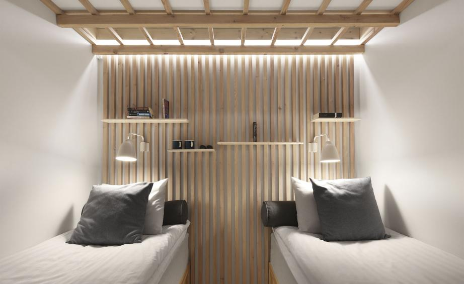 Luxe Interieur Design : Low cost luxe bedding down in affordable designer accommodation