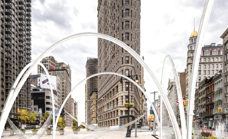 Lot Wins Flatiron Public Plaza Installation Competition