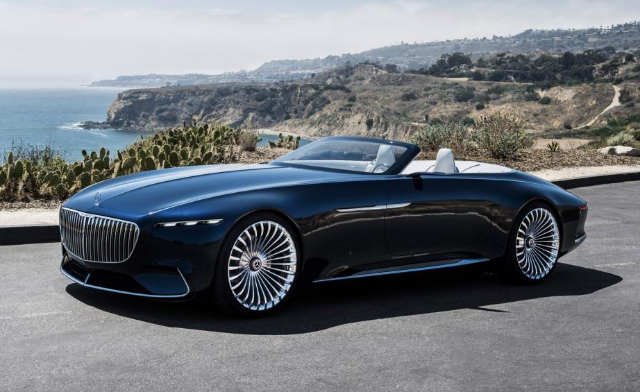 First Look The Vision Mercedes Maybach 6 Cabriolet Wallpaper