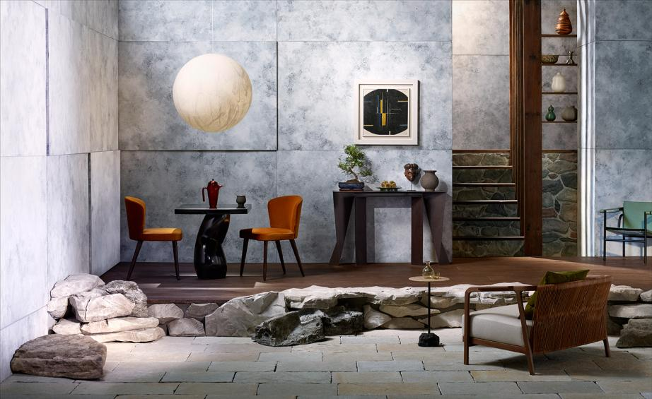 Set In Stone Its Bedrock And Board At Our New Bolthole Wallpaper - Bedrock marble dining table