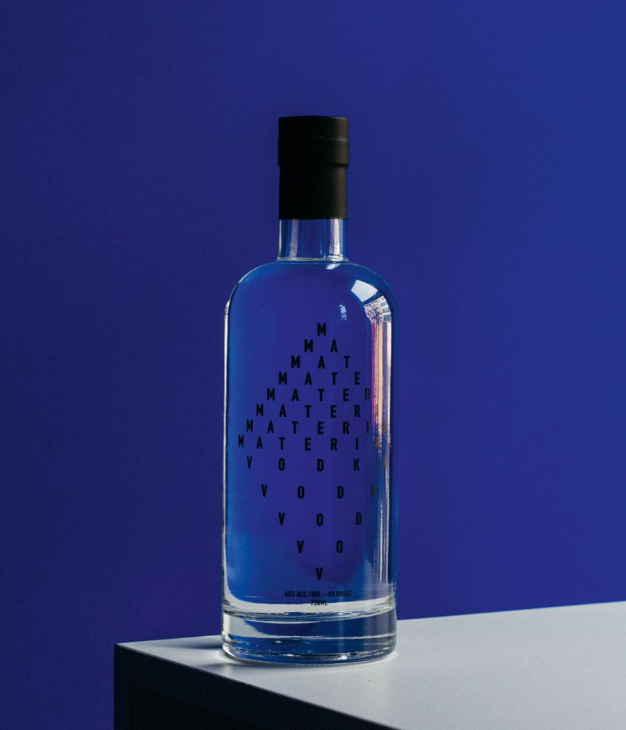 Vodka by New York-based brand Material