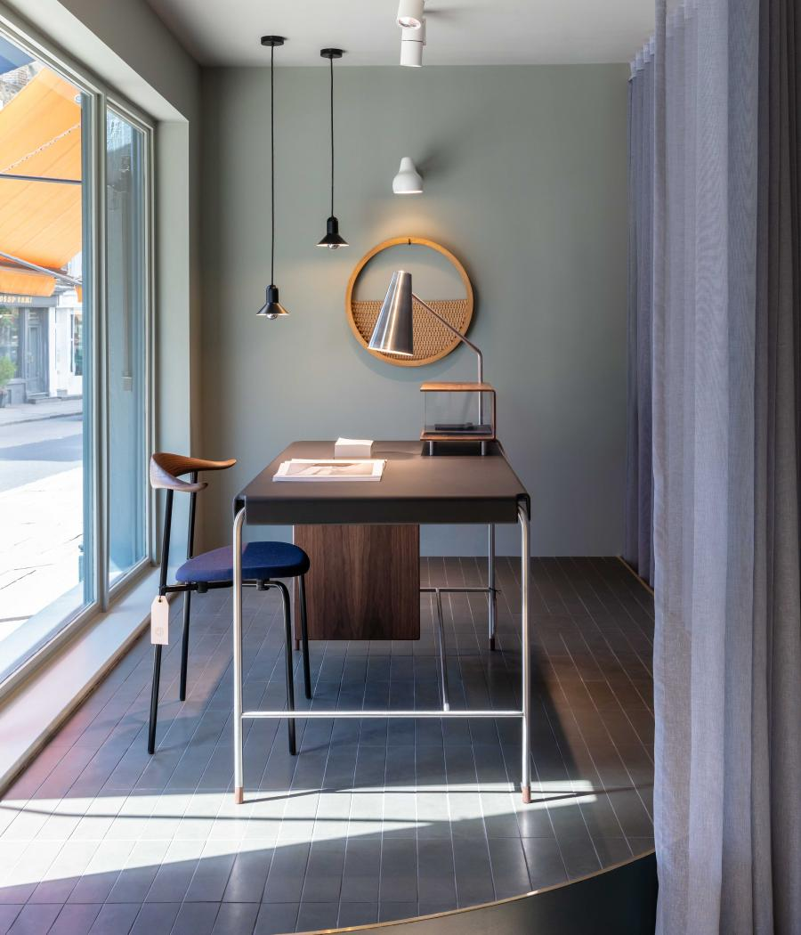 Office furniture design at Carl Hansen & Søn's new London showroom