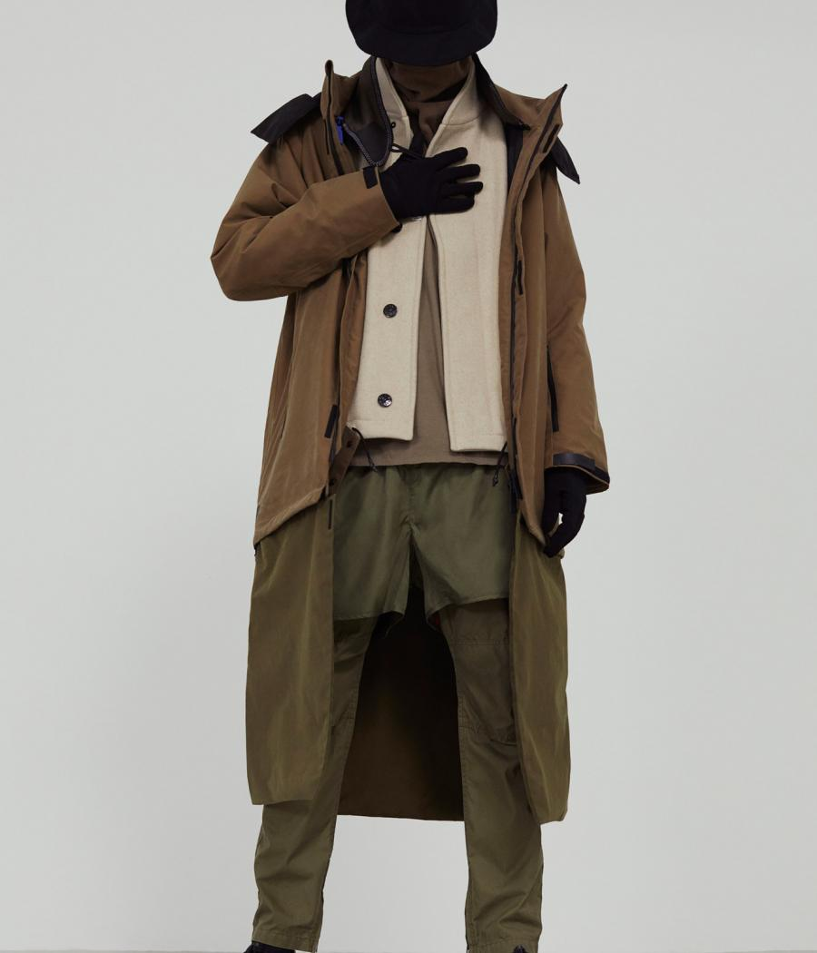 Performance wear pieces by Templa, Stone Island, Nonnative, PE Nation, Roa, Nemen, and Descente Allterrain