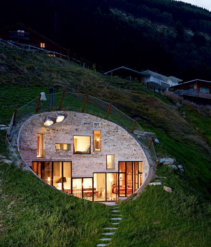 Hole House by SeARCH and Christian Müller