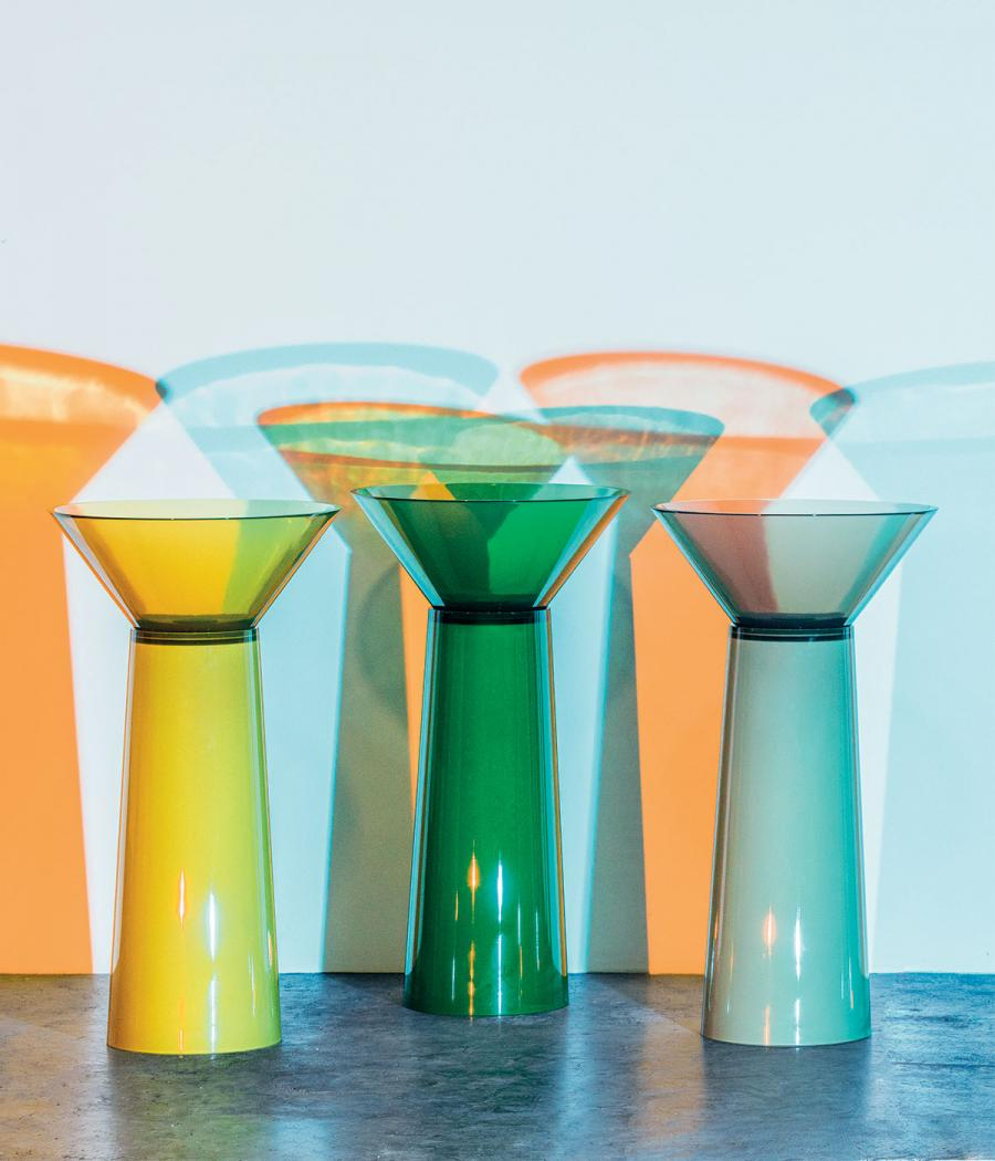 'Albume' coloured sinks by Carlo Colombo for Antoniolupi