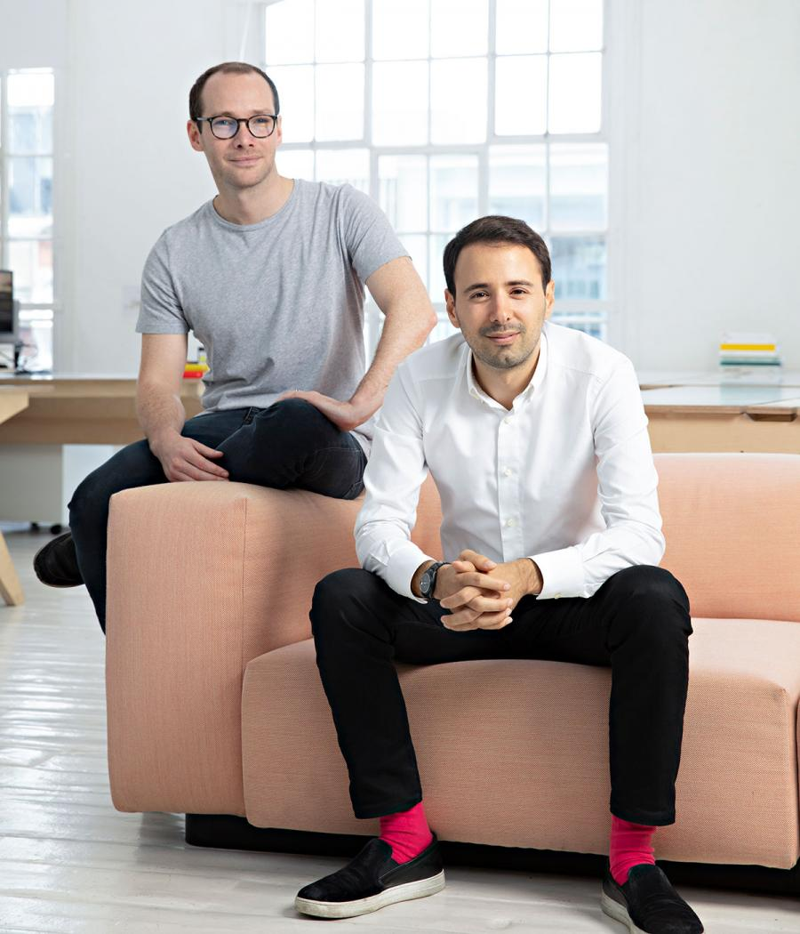 Clippings cofounders Tom Mallory and Adel Zakout