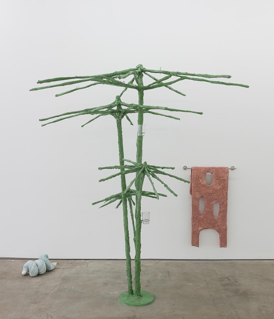 Springs I, sculpture by Oren Pinhassi, at Edel Assanti Gallery, London