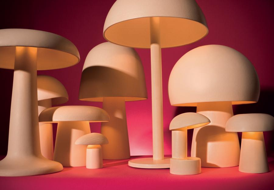 Magic mushrooms of Belgian ceramic artist Jos Devriendt