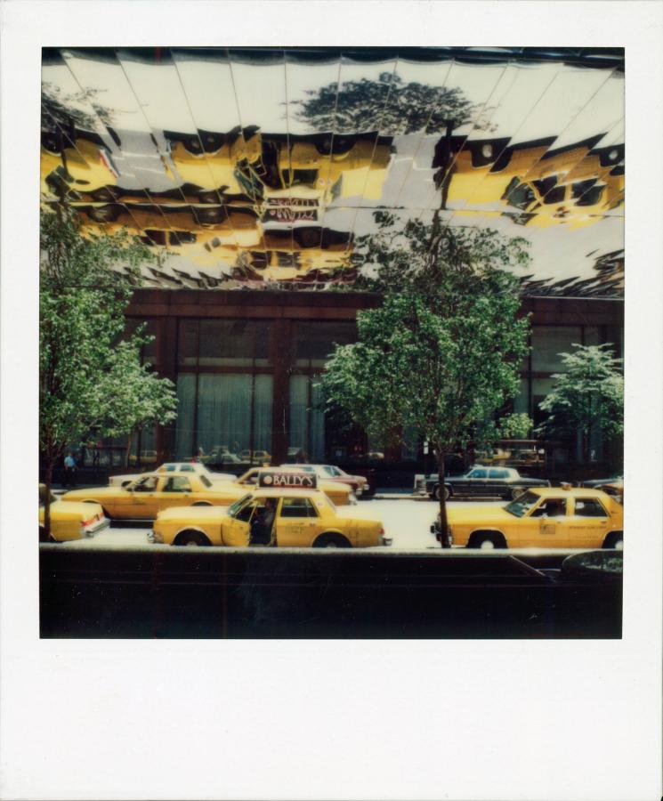 ilton 6th Ave, NYC, 1986, by Robby Müller, Polaroid 600