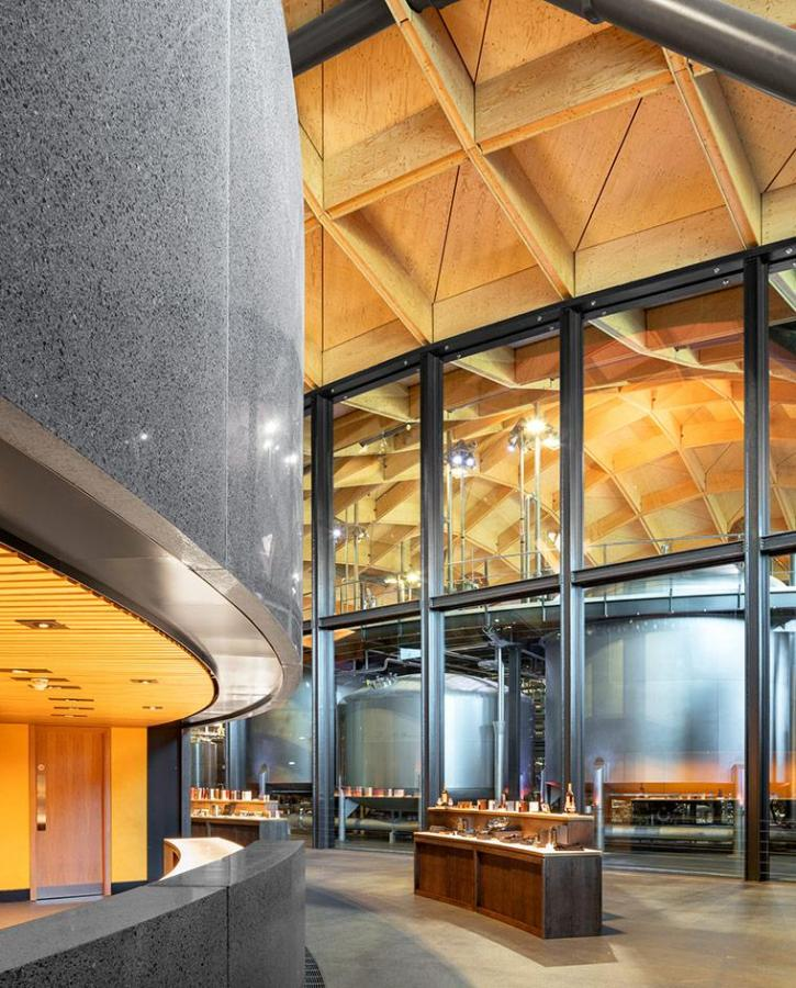 Roger Stirk Harbour + Partners-designed Macallan Distillery