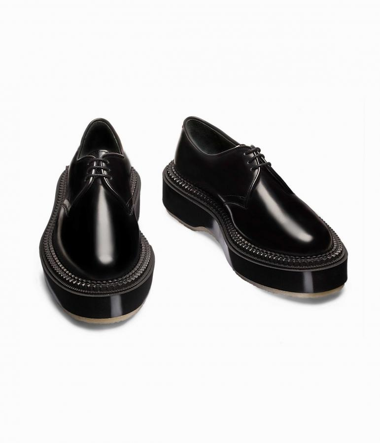 Adieu Undercover 54c derby in black